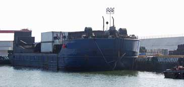 260 x 60 Work and Cargo Barge w/Refrigerated Hold