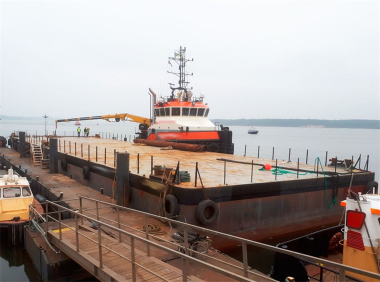 50.00 x 14.00 x 300 m Deck Barge For Charter
